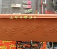 爱丽思FLOWL-470长型花盆树脂长方形花盆IRIS正品批发