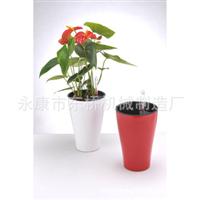 厂家自销:自动灌水/自动供水时尚烤漆花盆