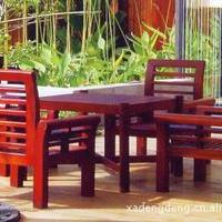 户外家具、优质进口山樟木、做工考究、经久耐用、标致新颖