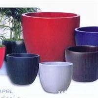 玻璃钢花盆、树脂纤维材料制作、设计新颖、独特、引人注目