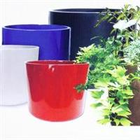 玻璃钢花盆、设计新颖出众、适合放置在街道、小区、公园、广场、