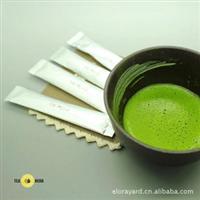 顶级抹茶:日本进口[鹿�沟氦文ú�]石臼で挽きたて单条装/2克