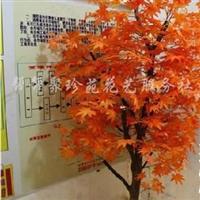 供应仿真植物红枫树