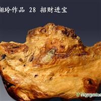 中国根艺美术大师姜翔玲作品