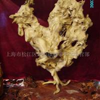 天然根雕珍品根雕-雄鸡-中国板块地图