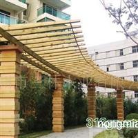 供应三林防腐木廊架