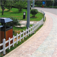 姜堰pvc绿化带安全草坪护栏
