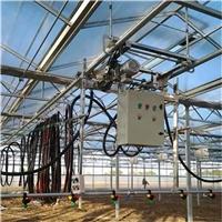 温室电动喷灌机一轨多用能调速-苗床厂家