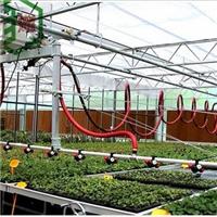 安徽温室喷灌设备-自动变轨喷灌机-华耀苗床